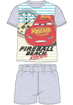Pijama, maneca scurta, Racer, gri
