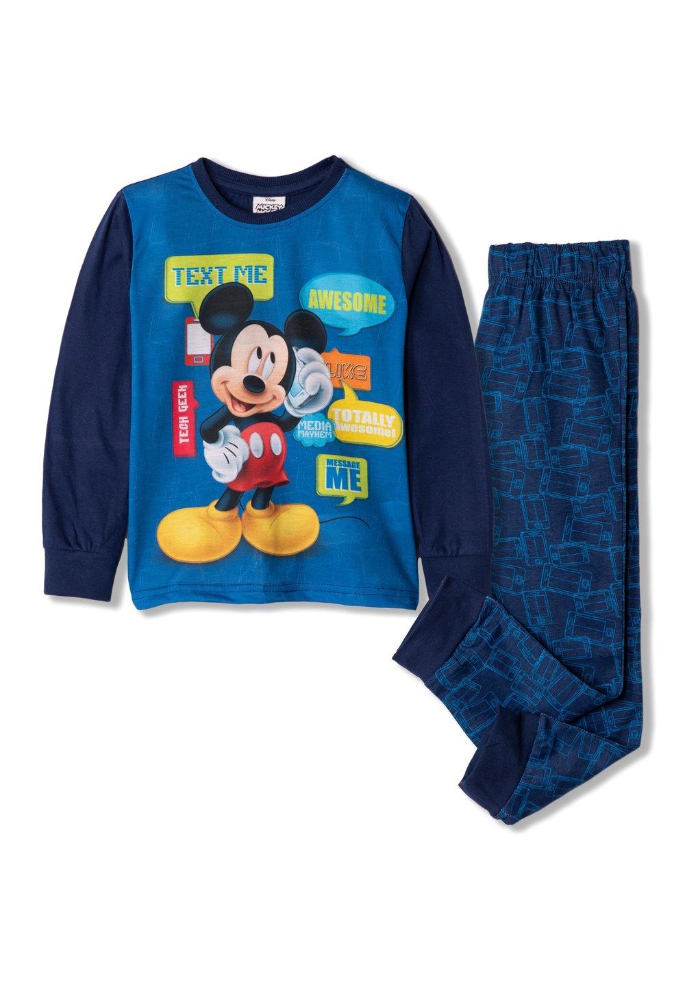 Pijama, Mickey text me, bluemarin imagine