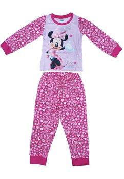 Pijama Minnie, roz cu fulgi de zapada