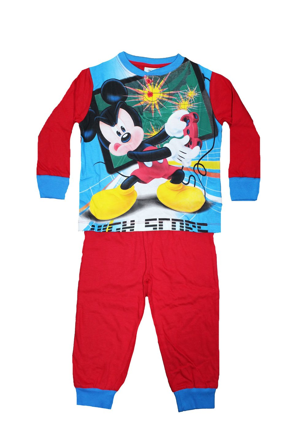 Pijama rosie, Mickey High score
