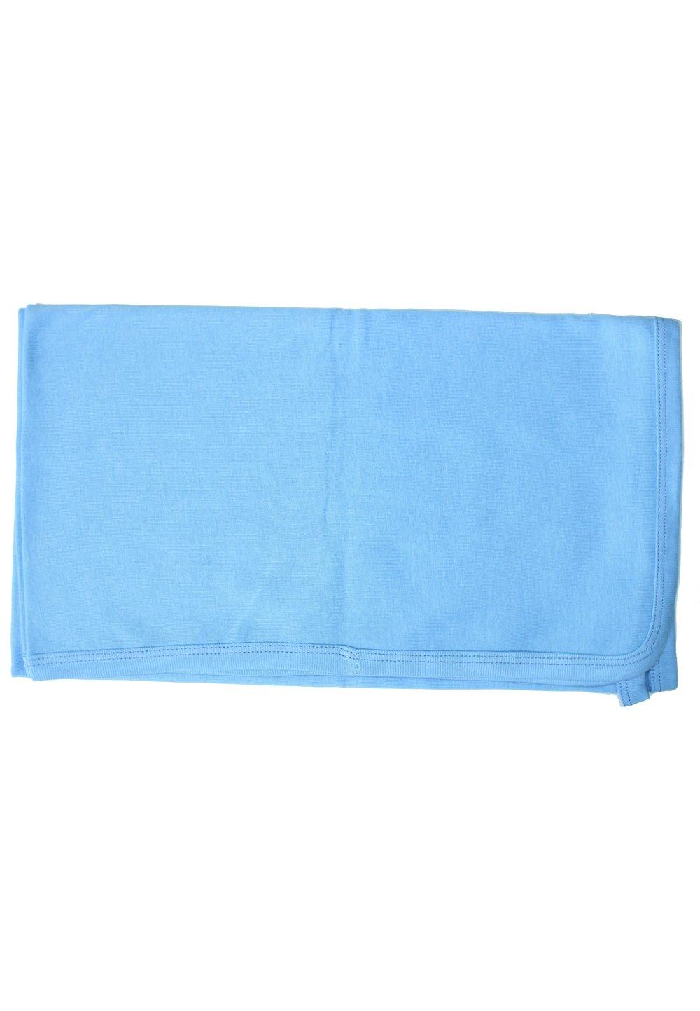 Pled bebe albastru, 95x75 cm imagine