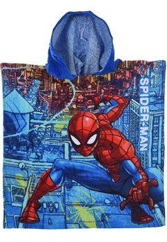 Poncho baieti, Spider, albastru