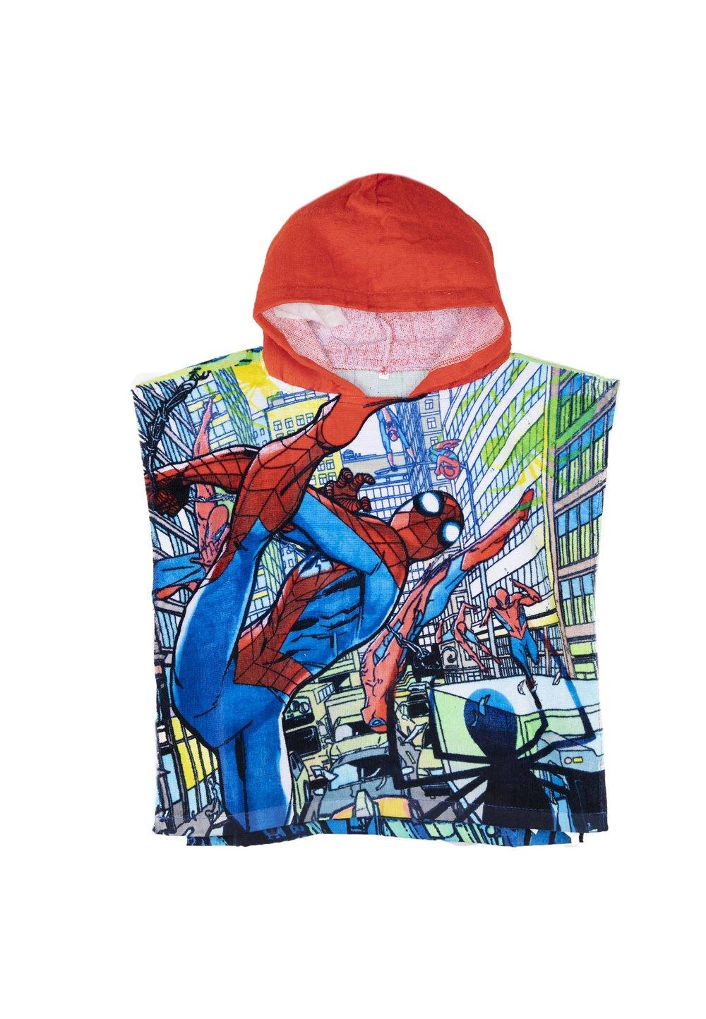 Poncho baieti, Spider man, rosu imagine