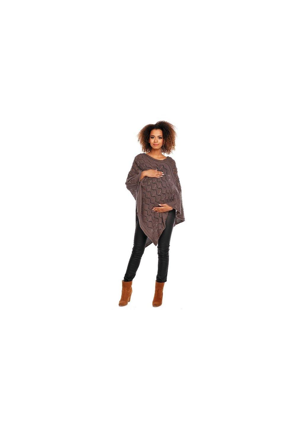 Poncho maro, tricotat imagine