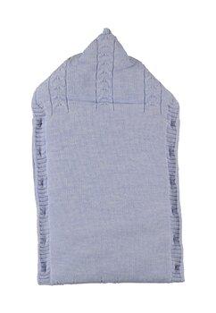 Port bebe, Baby my, tricotat, albastru