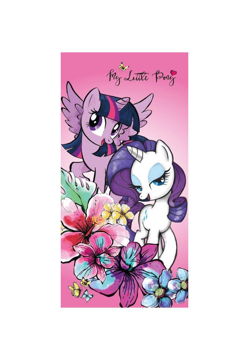 Prosop bumbac, My Little Pony, 140x70cm imagine