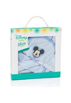 Prosop cu manusa baie, Mickey Mouse, albastru