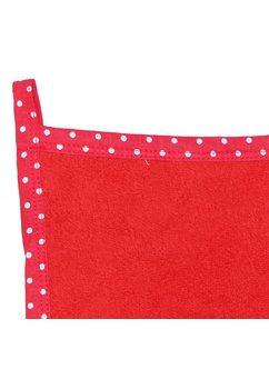 Prosop de maini, rosu, 30x30cm