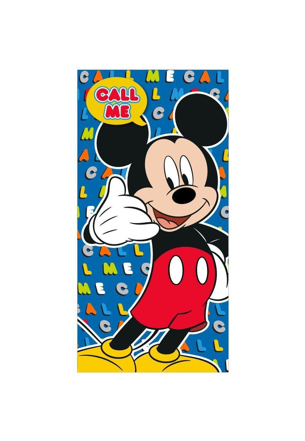 Prosop, Mickey Mouse, Call me, 70x140cm imagine