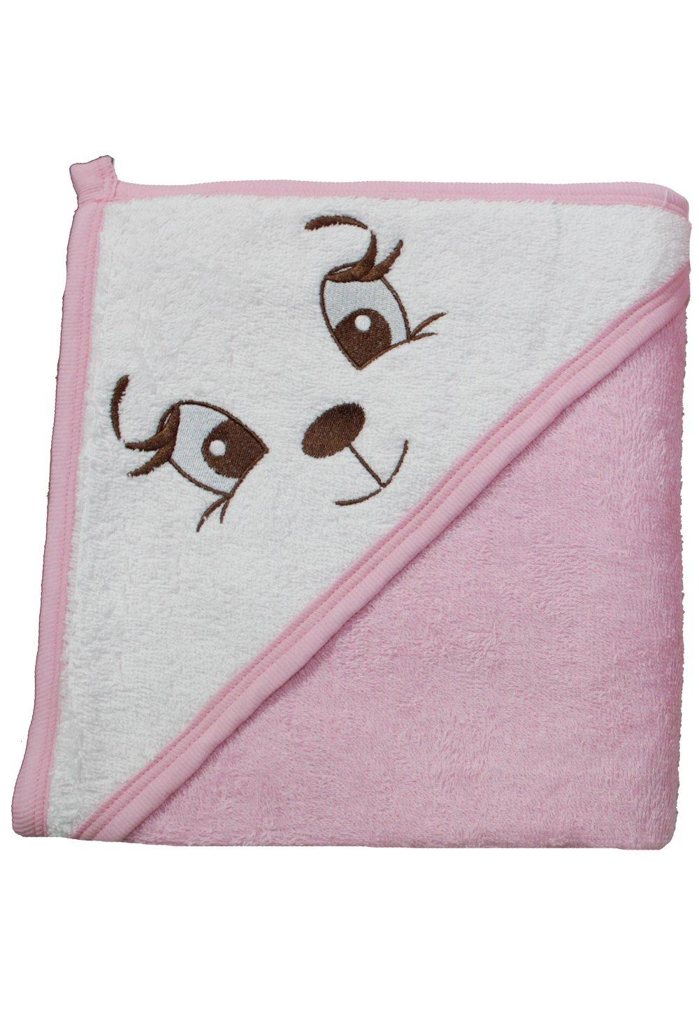 Prosop roz, catelusa, 80x100cm imagine