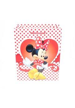 Punga cadou, de hartie, Minnie, cu buline