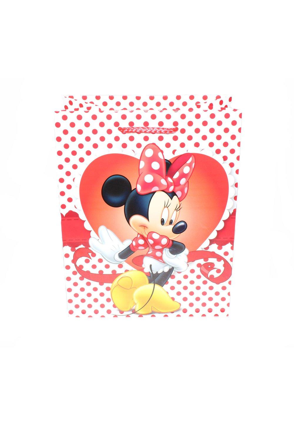 Punga cadou, de hartie, Minnie, cu buline imagine