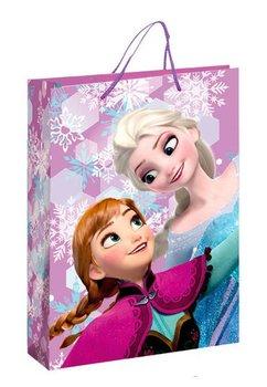 Punga cadou, mare, Anna si Elsa, mov