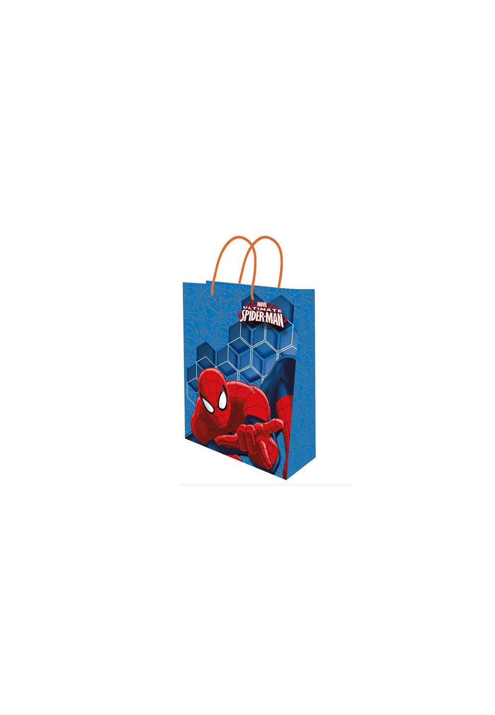 Punga cadou, mica, Spider-Man, albastra imagine