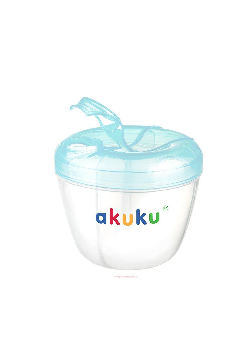 Recipient pentru pastrarea laptelui, Akuku, albastru imagine