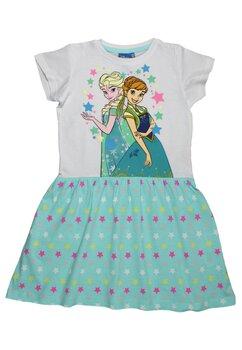 Rochie cu stelute, Ana si Elsa, verde