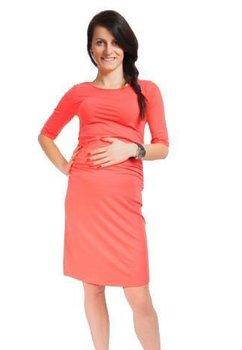 Rochie gravide, Lauren, coral