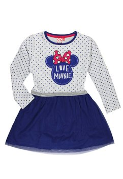 Rochie maneca lunga Minnie Mouse, bluemarin
