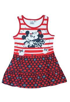 Rochie, rosie cu dungi, Minnie si Mickey
