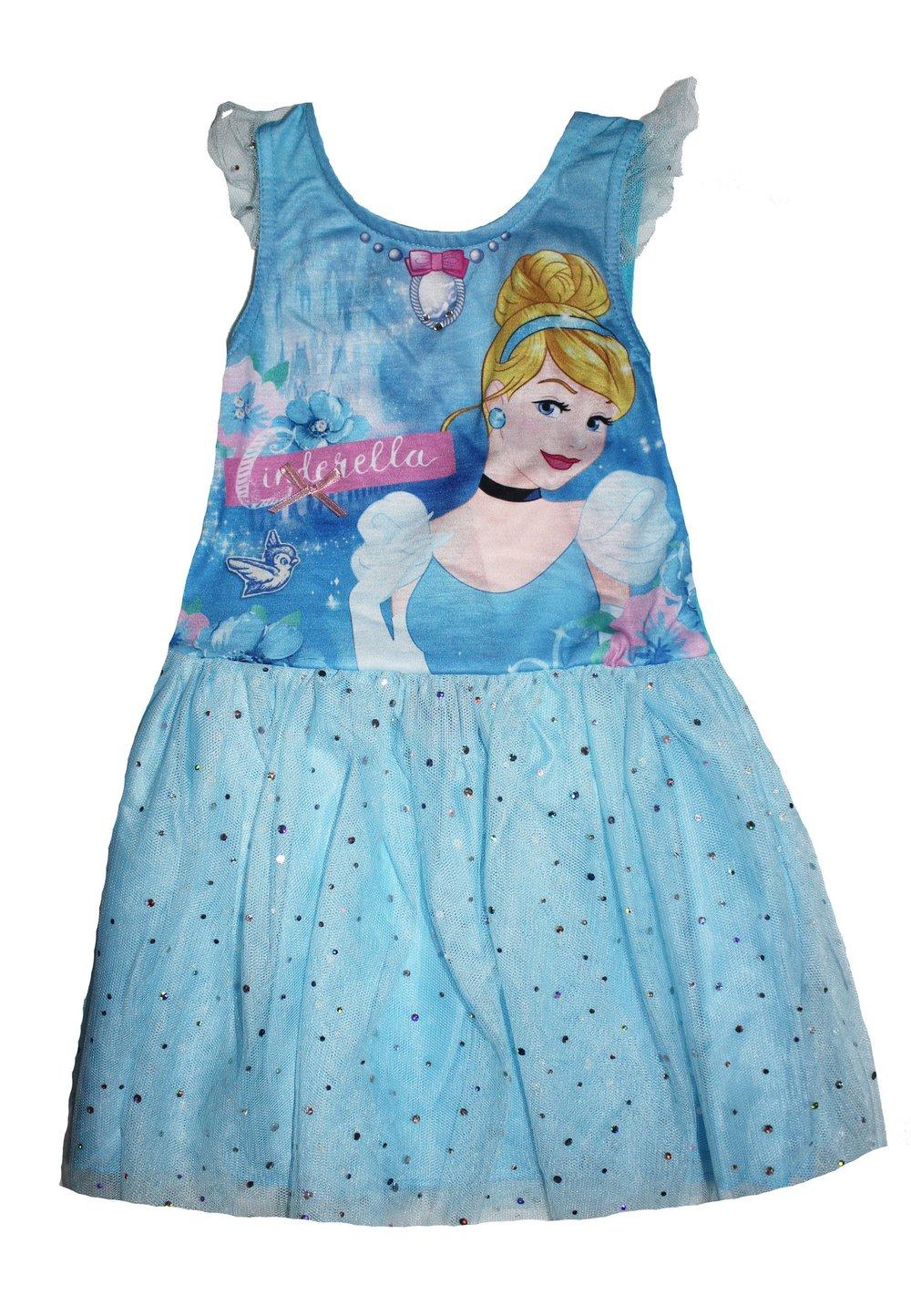 Rochie tutu, Cinderella, albastra imagine