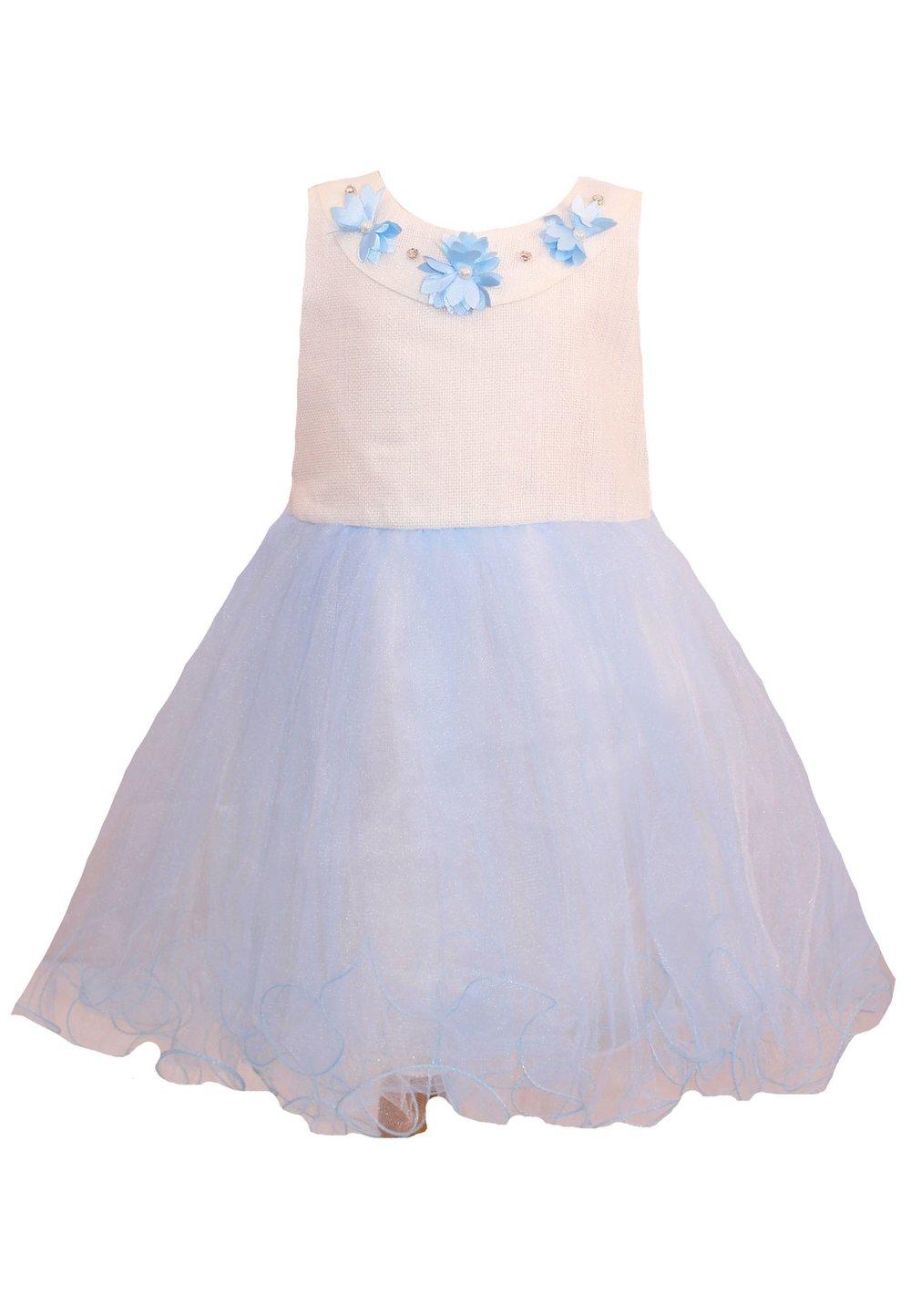 Rochita, cu floricele albastre deschis imagine
