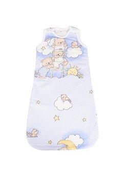 Sac de dormit, iarna, ursuletul somnoros, albastru