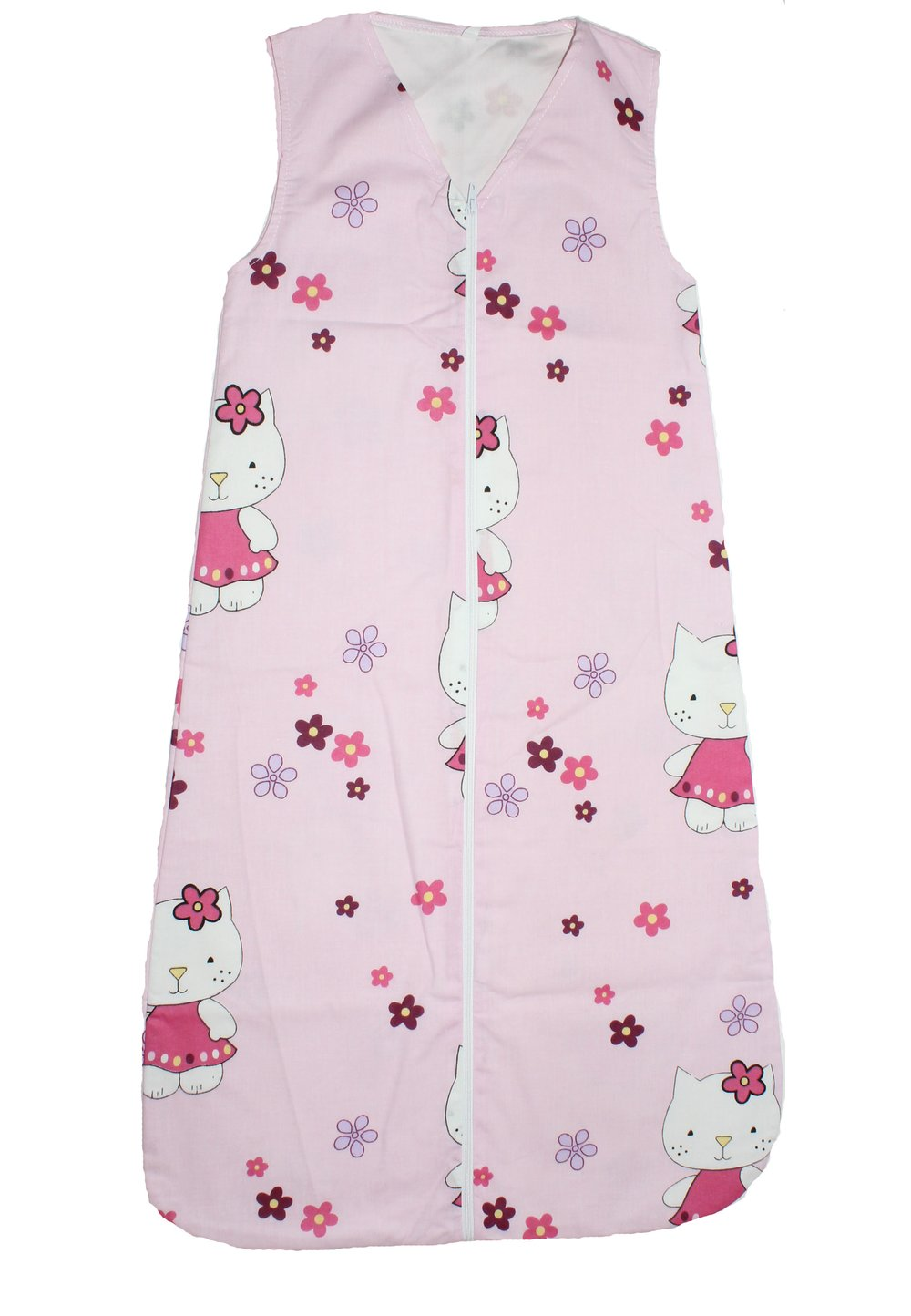 Sac de dormit, vara, kitty, roz imagine