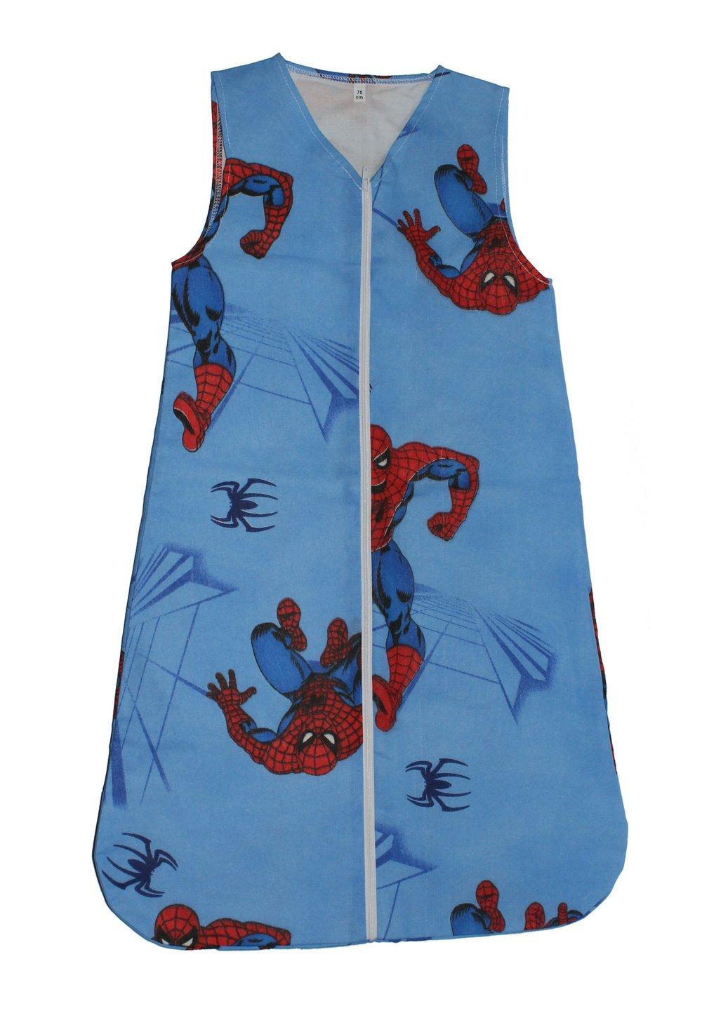 Sac de dormit vara Spider-Man albastru imagine