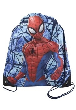 Sac, Ultimate Spider-Man, albastru, 38 x 32 cm