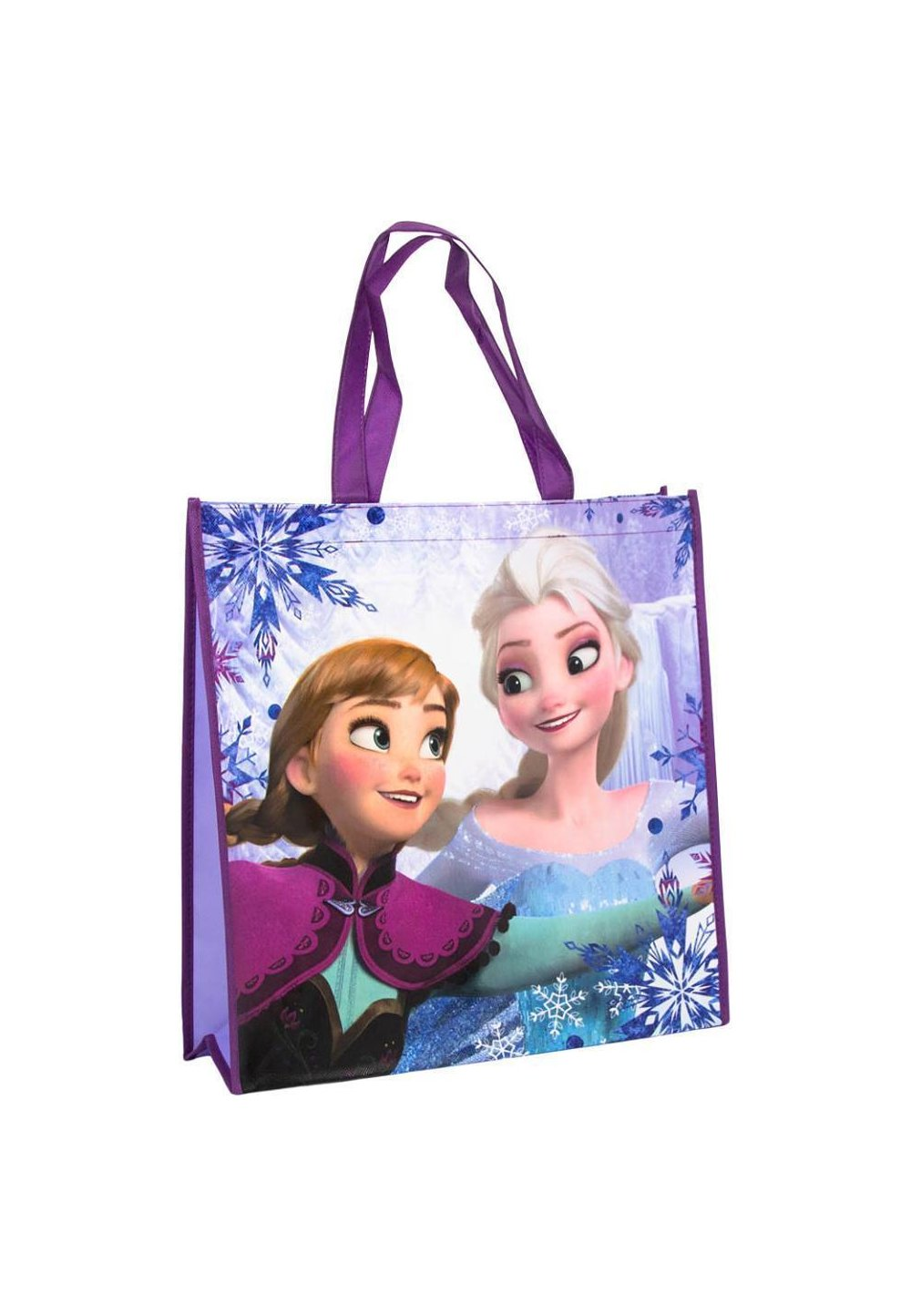 Sacosa cumparaturi Frozen, mov inchis imagine