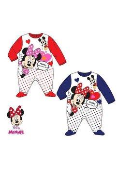 Salopeta albastra, Minnie Mouse, cu inimioare