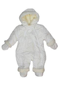 Salopeta groasa bebe, ivory