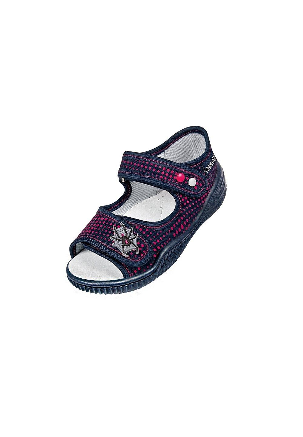 Sandale, bluemarin cu buline rosii, Spider imagine