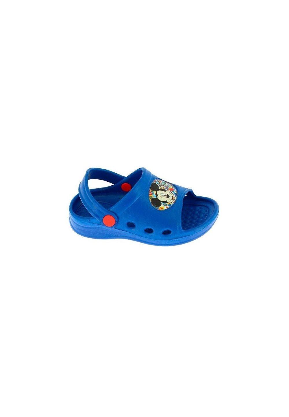 Sandale plaja, albastre, Mickey Mouse