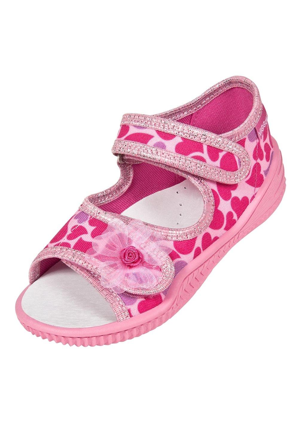 Sandale, roz cu inimioare roz imagine