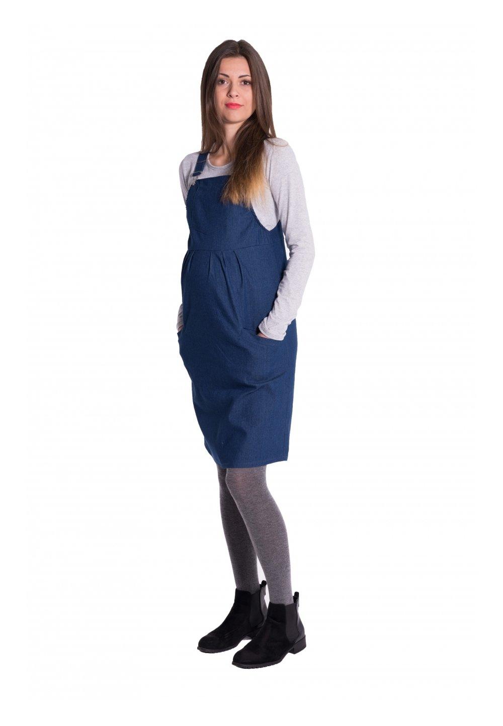 Rochie tip sarafan gravide, bluemarin imagine