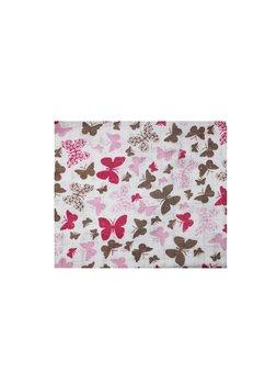 Scutec bumbac, Butterfly, roz, 80 x 70 cm