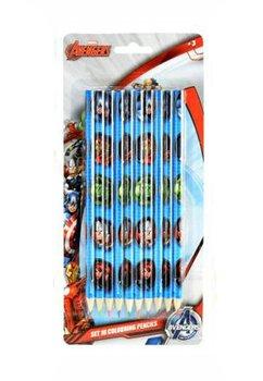 Set 10 creioane colorate, Avengers
