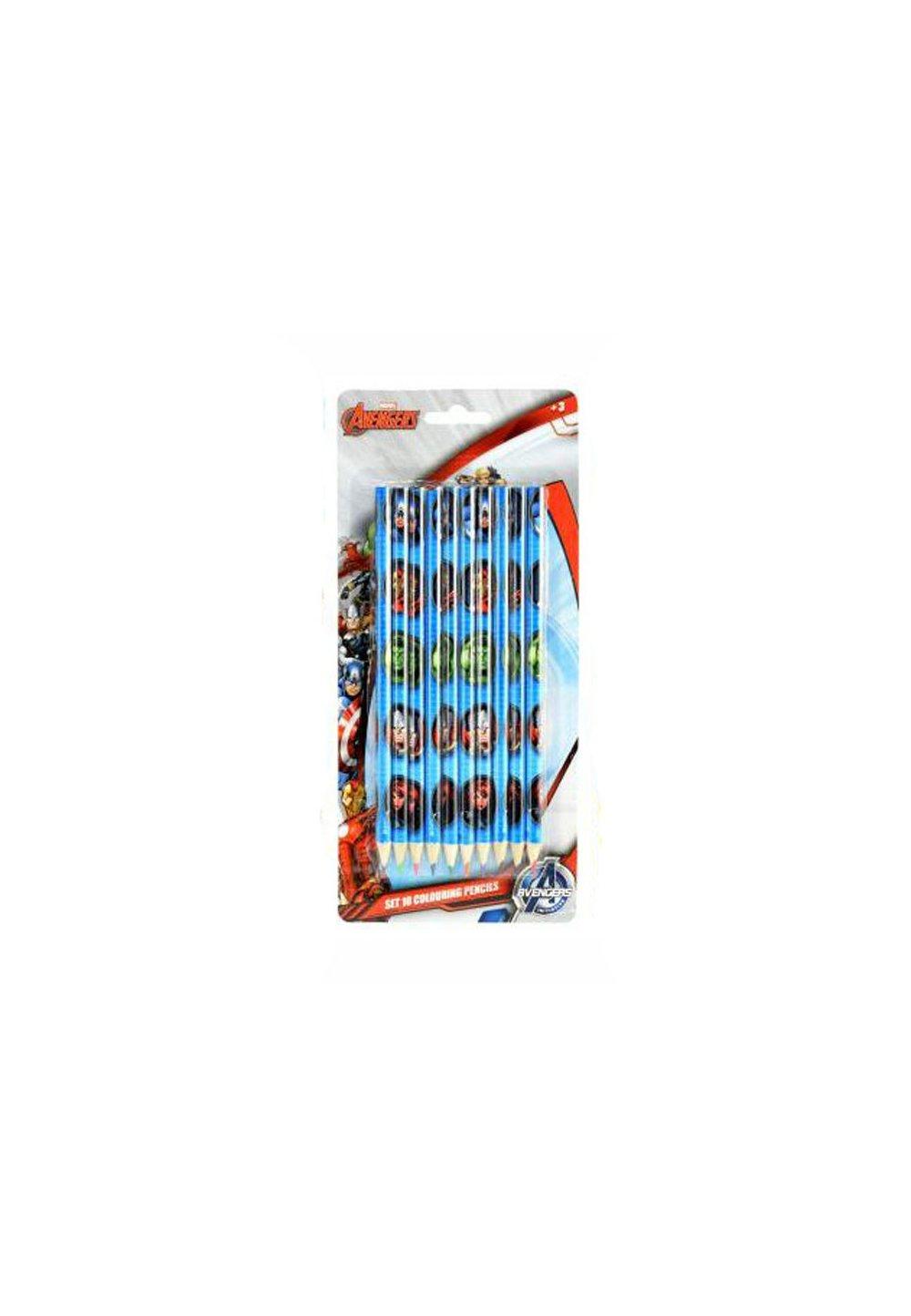 Set 10 creioane colorate, Avengers imagine