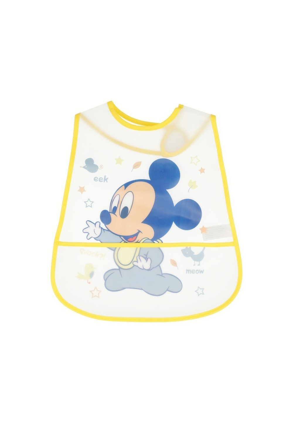 Set 2 bavete, bebe Mickey Mouse, 6-12 luni imagine