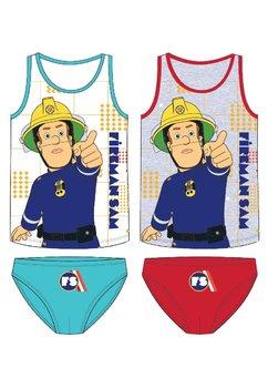 Set 2 piese, Fireman Sam, albastra