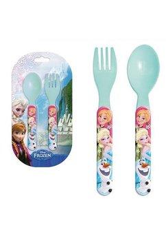 Set 2 tacamuri de plastic, Frozen, turcoaz