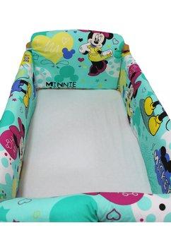 Set aparatoare patut, Maxi, Minnie si Mickey, 120 x 60 cm