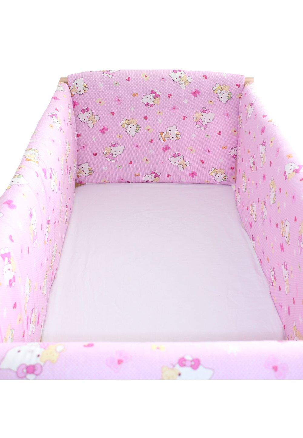 Set aparatori patut, Maxi, Hello Kitty, roz deschis, 120x60cm imagine