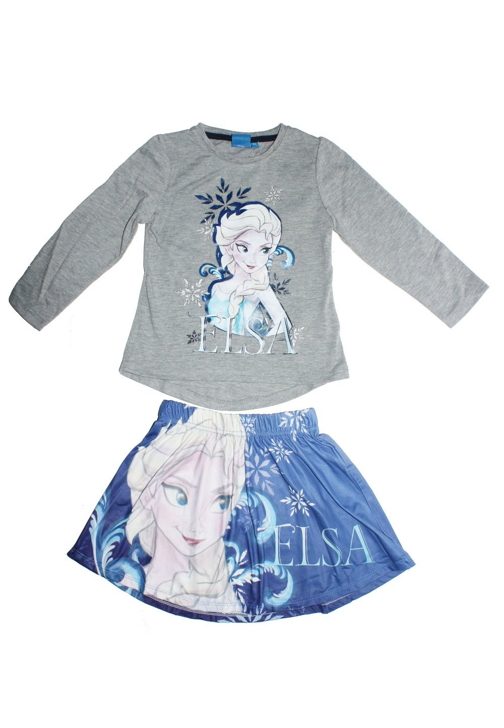 Set bluza + fusta, Elsa, gri imagine