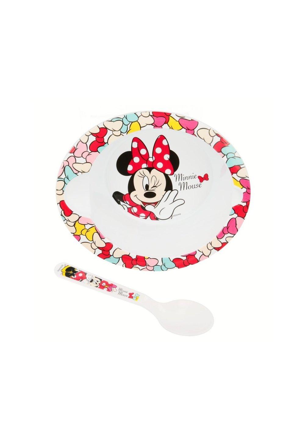 Set castronas si lingurita, Minnie Mouse imagine