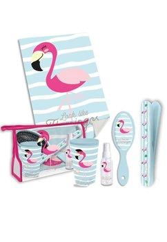 Set igiena, flamingo, turcoaz