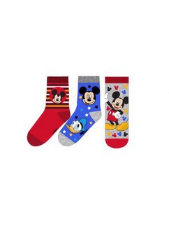 Set sosete, Mickey si Donald, gri