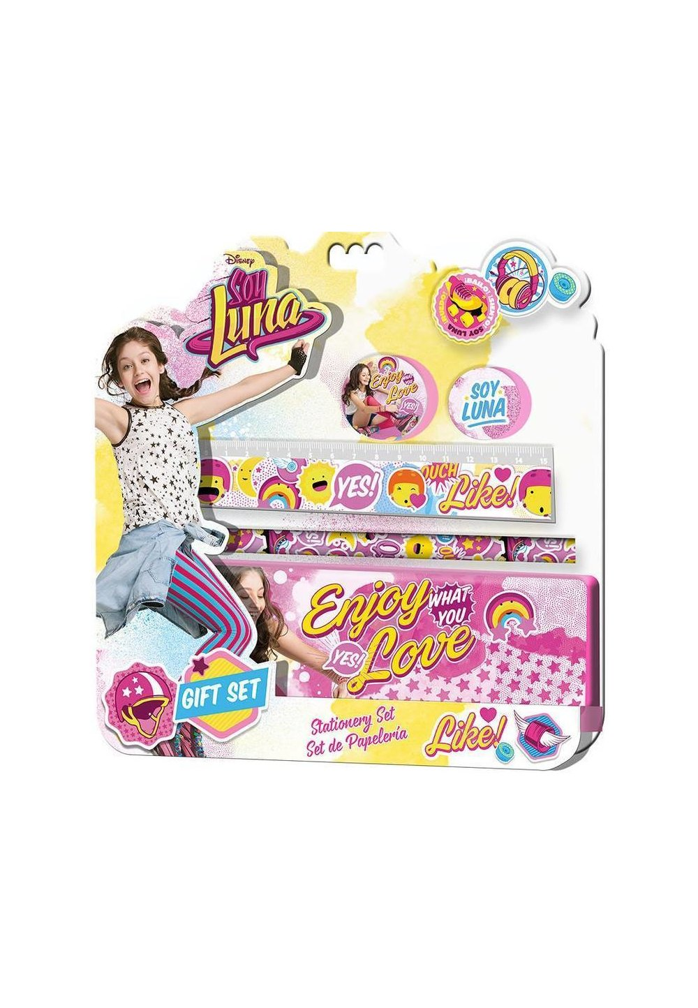 Set Soy Luna, 5piese, Enjoy what you love imagine