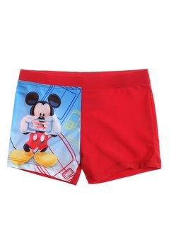 Slip de baie Mickey Mouse, rosu